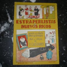 Tebeos: ESTRAPERLISTAS Y NUEVOS RICOS V.CASTANYS EDITORIAL BAUZA 1950. Lote 104834811