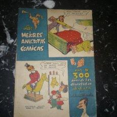 Tebeos: LAS MEJORES ANECDOTAS COMICAS MUNTAÑOLA EDITORIAL BAUZA 1946. Lote 104834851