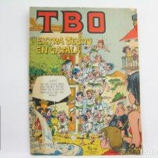 Giornalini: CÓMIC TBO - EXTRA D' ESTIU EN CATALÀ - ED. BUIGAS, AÑO 1958. Lote 109364670