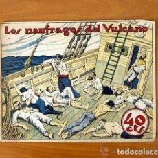Tebeos: GRÁFICA TBO - LOS NAÚFRAGOS DEL VULCANO - EDITORIAL BUIGAS 1919. Lote 109818271