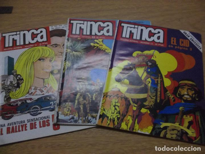 TRINCA 3 COMICS N.11 Y 12 Y 13 EDITOR DONCEL OFERTON (Tebeos y Comics - Buigas - Otros)
