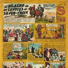 Tebeos: S (TBO, 1947): EL MILAGRO DE LOS COYOTES DE SILVER-CREEK. Lote 111192171
