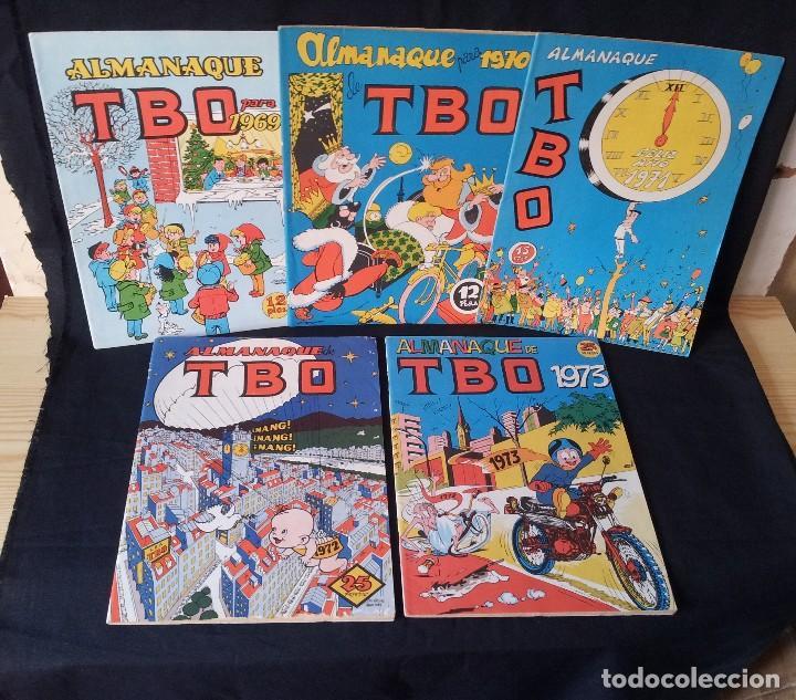 TBO - LOTE DE 10 ALMANAQUES - BUIGAS, ESTIVILL Y VIÑAS 1958 - LEER DESCRIPCION (Tebeos y Comics - Buigas - TBO)