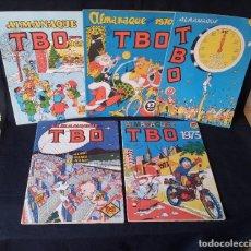 Tebeos: TBO - LOTE DE 10 ALMANAQUES - BUIGAS, ESTIVILL Y VIÑAS 1958 - LEER DESCRIPCION. Lote 111723123