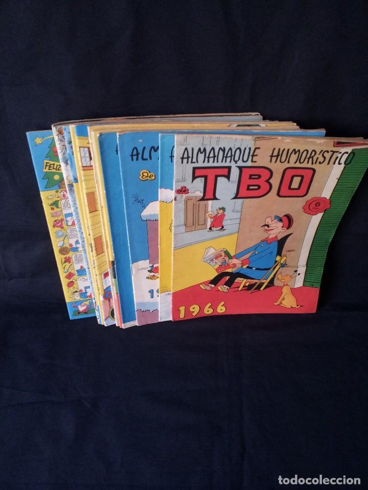 TBO - LOTE DE 13 ALMANAQUES HUMORÍSTICO - BUIGAS, ESTIVILL Y VIÑAS 1958 - LEER DESCRIPCION (Tebeos y Comics - Buigas - TBO)