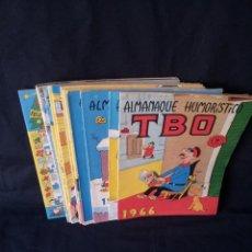 Tebeos: TBO - LOTE DE 13 ALMANAQUES HUMORÍSTICO - BUIGAS, ESTIVILL Y VIÑAS 1958 - LEER DESCRIPCION. Lote 111724731