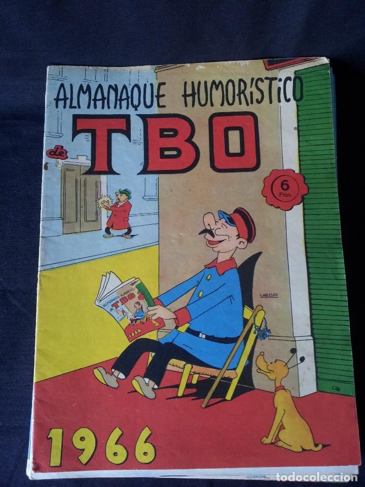 Tebeos: TBO - LOTE DE 13 ALMANAQUES HUMORÍSTICO - BUIGAS, ESTIVILL Y VIÑAS 1958 - LEER DESCRIPCION - Foto 3 - 111724731