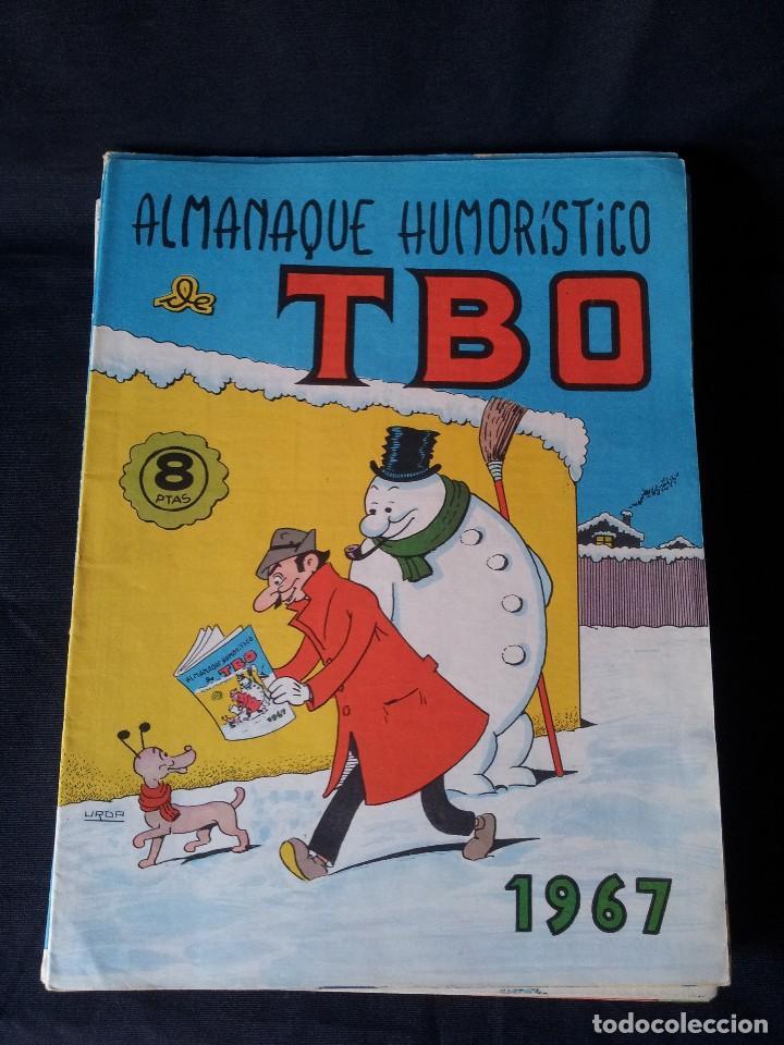 Tebeos: TBO - LOTE DE 13 ALMANAQUES HUMORÍSTICO - BUIGAS, ESTIVILL Y VIÑAS 1958 - LEER DESCRIPCION - Foto 6 - 111724731