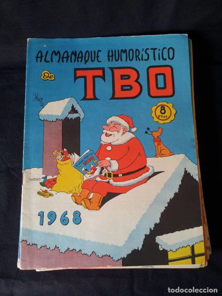 Tebeos: TBO - LOTE DE 13 ALMANAQUES HUMORÍSTICO - BUIGAS, ESTIVILL Y VIÑAS 1958 - LEER DESCRIPCION - Foto 7 - 111724731