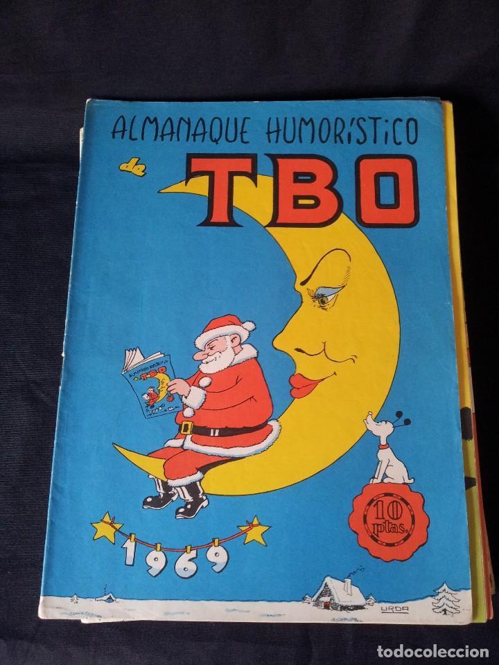 Tebeos: TBO - LOTE DE 13 ALMANAQUES HUMORÍSTICO - BUIGAS, ESTIVILL Y VIÑAS 1958 - LEER DESCRIPCION - Foto 9 - 111724731