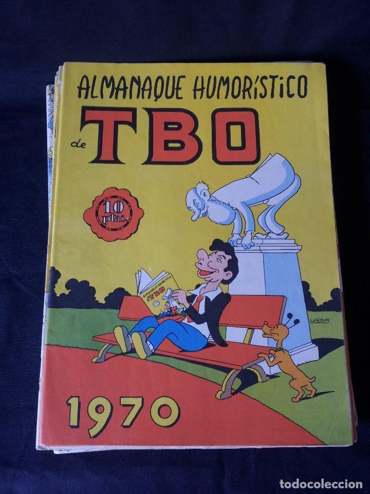 Tebeos: TBO - LOTE DE 13 ALMANAQUES HUMORÍSTICO - BUIGAS, ESTIVILL Y VIÑAS 1958 - LEER DESCRIPCION - Foto 11 - 111724731