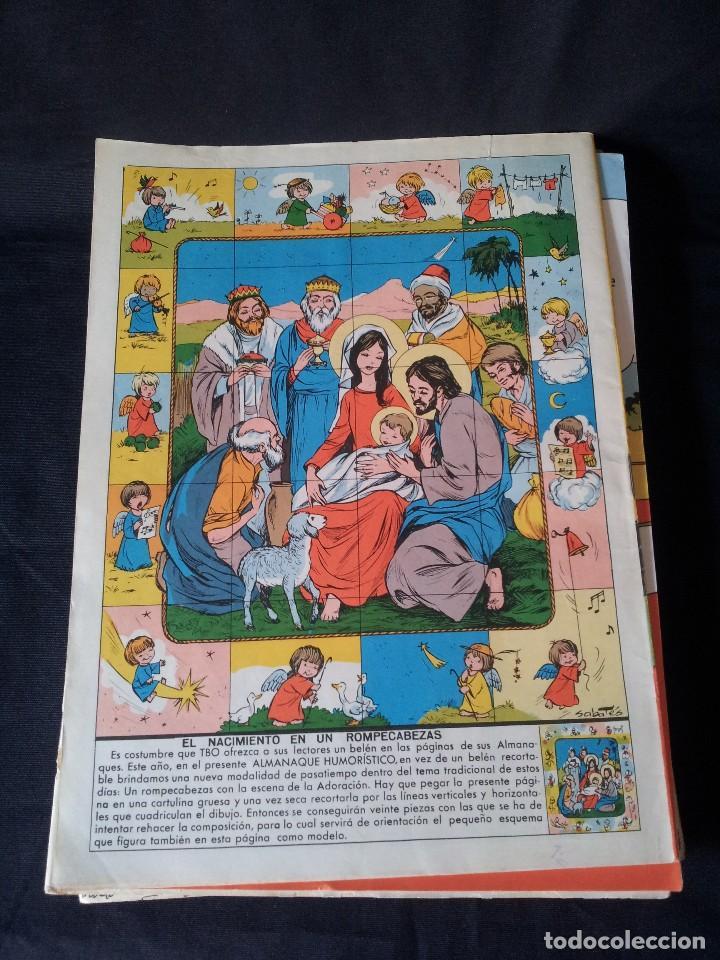 Tebeos: TBO - LOTE DE 13 ALMANAQUES HUMORÍSTICO - BUIGAS, ESTIVILL Y VIÑAS 1958 - LEER DESCRIPCION - Foto 12 - 111724731