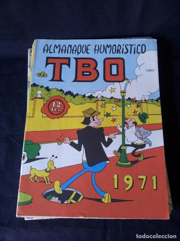 Tebeos: TBO - LOTE DE 13 ALMANAQUES HUMORÍSTICO - BUIGAS, ESTIVILL Y VIÑAS 1958 - LEER DESCRIPCION - Foto 13 - 111724731