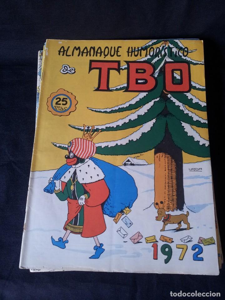 Tebeos: TBO - LOTE DE 13 ALMANAQUES HUMORÍSTICO - BUIGAS, ESTIVILL Y VIÑAS 1958 - LEER DESCRIPCION - Foto 15 - 111724731