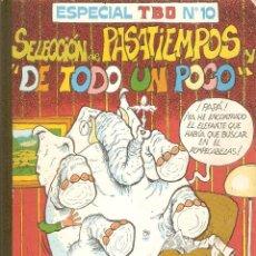 Tebeos: RETAPADO ESPECIAL TBO Nº 10 - BUIGAS, ESTEVILL Y VIÑAS.. Lote 112257487