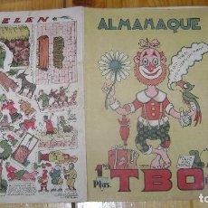 Tebeos: EL PRIMER ALMANAQUE TBO TEBEO DE POSGUERRA EL DEL PAYASO VER FOTOS Y DESCRIPCION CJ 20. Lote 112796243