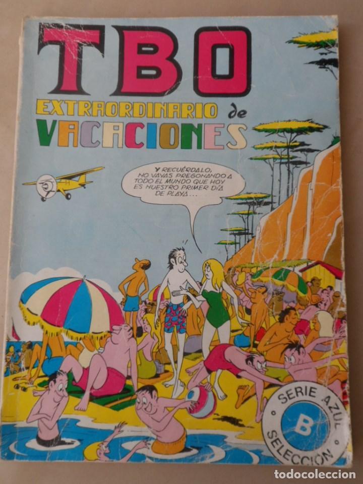 TBO EXTRAORDINARIO DE VACACIONES - BUIGAS - 1973 - POSIBLE ENVÍO GRATIS (Tebeos y Comics - Buigas - TBO)