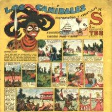 Tebeos: HISTORIETAS Y AVENTURAS DE S: LOS CANÍBALES (BUIGAS, 1947). Lote 113209763