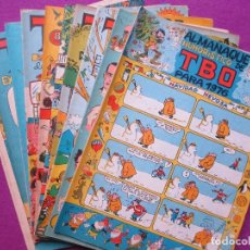 Tebeos: LOTE 12 TEBEOS, TBO, ALMANAQUES, EXTRAORDINARIOS, VER FOTOS, ALMANAQUE 1976 CON RECORTABLE. Lote 113604975