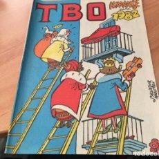 Tebeos: TBO ALMANAQUE PARA 1982. FIGURAS RECORTABLES BELEN CONTRAPORTADA (COI61). Lote 115622715