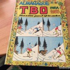 Tebeos: TBO ALMANAQUE PARA 1983. FIGURAS RECORTABLES BELEN CONTRAPORTADA OPISSO (COI61). Lote 115622771