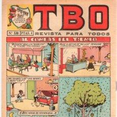 Tebeos: TBO Nº 530. EDICION CONMEMORATIVA 1917-1967.. Lote 115670979