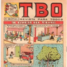 Tebeos: TBO Nº 530. EDICION CONMEMORATIVA 1917-1967.. Lote 115671900