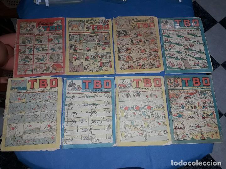 LOTE DE 8 TBO 1928 (Tebeos y Comics - Buigas - TBO)