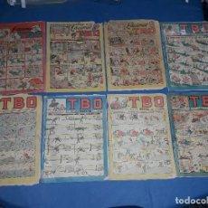 Tebeos: LOTE DE 8 TBO 1928. Lote 116479175