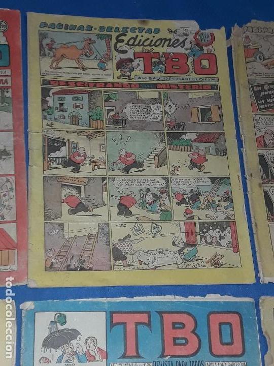 Tebeos: LOTE DE 8 TBO 1928 - Foto 3 - 116479175