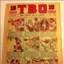 Tebeos: TBO - Nº. 349- AÑO VIII- AÑO 1924- PRECIO 10 CÉNTIMOS - (PORTADA OPISSO)- MUY BIEN CONSERVADO. Lote 116606683