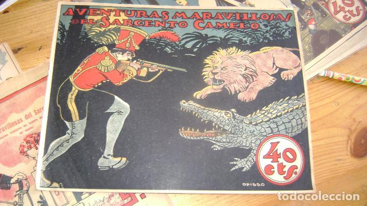 COLECCION GRAFICA TBO TEBEO T B O AVENTURAS MARAVILLOSAS DEL SARGENTO CAMELO CJ 22 (Tebeos y Comics - Buigas - Otros)