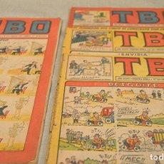 Tebeos: TBO - LOTE DE 4 - SEGUNDA EPOCA - NUMEROS 10 - 13 - 23 Y 35 -. Lote 117690947