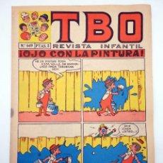 Livros de Banda Desenhada: TBO REVISTA INFANTIL 649. OJO CON LA PINTURA (VVAA) BUIGAS, ESTIVIL Y VIÑA, 1970. OFRT. Lote 274304733