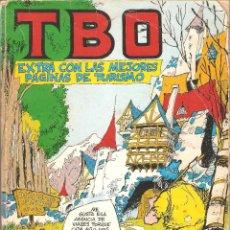 Tebeos: RETAPADO TBO Nº 1 - EXTRA CON LAS MEJORES PÁGINAS DE TURISMO Y 10 NÚM. MÁS - 1977.. Lote 119701791