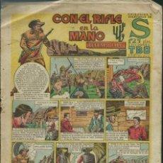 Tebeos: EPISODIOS Y AVENTURAS DE S Nº 27 - CON EL RIFLE EN LA MANO - ED. TBO 1948 -ORIGINAL -VER DESCRIPCION. Lote 122562591