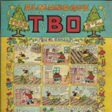 Tebeos: ALMANAQUE TBO PARA 1953 (1952) - ORIGINAL - EN BUEN ESTADO. Lote 122563527