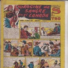 Tebeos: COMIC COLECCION S VORAGINE DE SANGRE EN CANADA . Lote 122787331