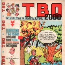 Tebeos: TBO 2000. Nº 2076. 31 MAYO 1974.. Lote 124590419