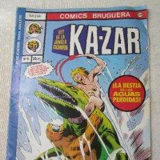 Tebeos: COMICS BRUGUERA, KA -ZAR, NUMERO 6 , . Lote 125116855