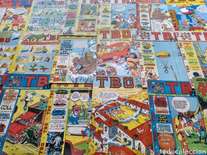 LOTE 48 EJEMPLARES DIVERSOS TBO. DIVERSAS CONSERVACIONES. (Tebeos y Comics - Buigas - TBO)