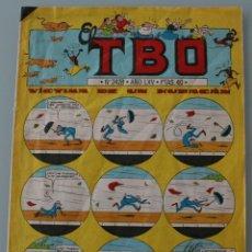 Tebeos: PUBLICACION REVISTA COMIC EL TBO Nº 2428 - AÑO LXV - CON LOS PERSONAJES CLASICOS – AÑO 1981. Lote 126187503