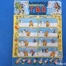 Livros de Banda Desenhada: ALMANAQUE HUMORÍSTICO TBO PARA 1976. Lote 221168423