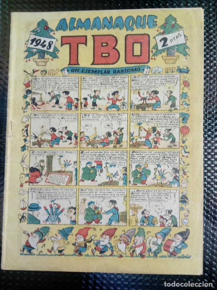 TBO ALMANAQUE 1948 - ORIGINAL (M 3) (Tebeos y Comics - Buigas - TBO)