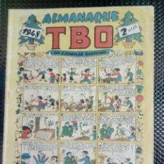 Tebeos: TBO ALMANAQUE 1948 - ORIGINAL (M 3). Lote 128271675