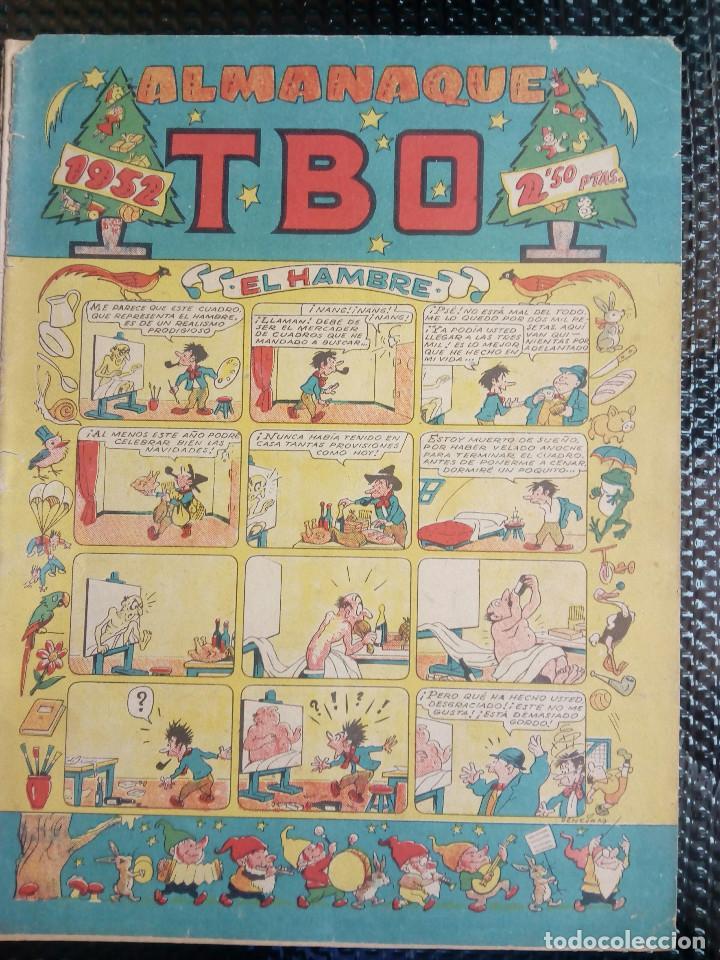 TBO ALMANAQUE 1952 - ORIGINAL (M 3) (Tebeos y Comics - Buigas - TBO)