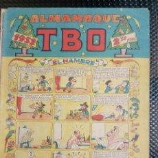 Tebeos: TBO ALMANAQUE 1952 - ORIGINAL (M 3). Lote 128272155