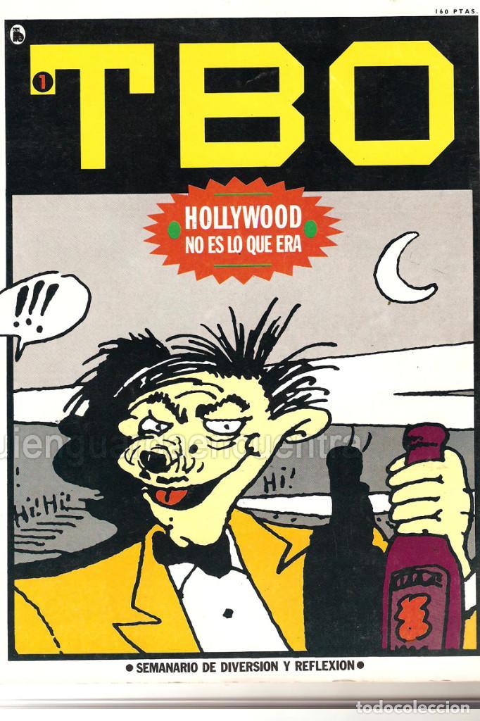 NUEVO TBO BRUGUERA 1-2-3-4-5-6-7 ÉPOCA 5-COLECCIÓN COMPLETA SEMANARIO DIVERSIÓN REFLEXIÓN-1986 NUEVO (Tebeos y Comics - Buigas - TBO)