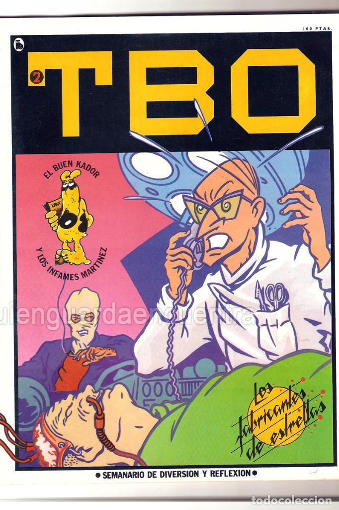 Tebeos: Nuevo TBO Bruguera 1-2-3-4-5-6-7 época 5-COLECCIÓN COMPLETA semanario diversión reflexión-1986 nuevo - Foto 2 - 128288779