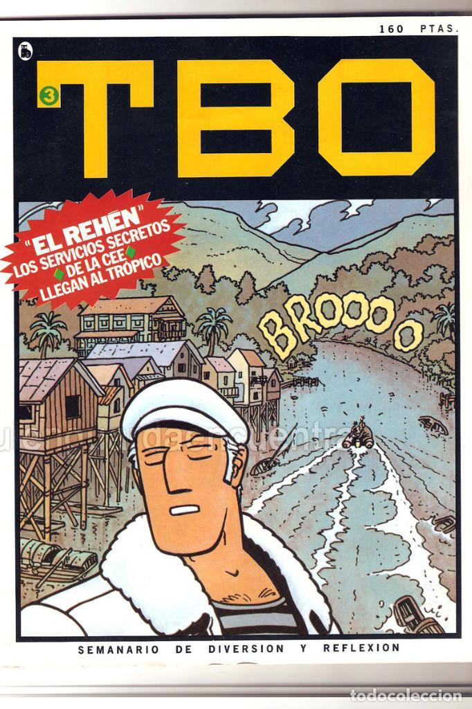 Tebeos: Nuevo TBO Bruguera 1-2-3-4-5-6-7 época 5-COLECCIÓN COMPLETA semanario diversión reflexión-1986 nuevo - Foto 3 - 128288779